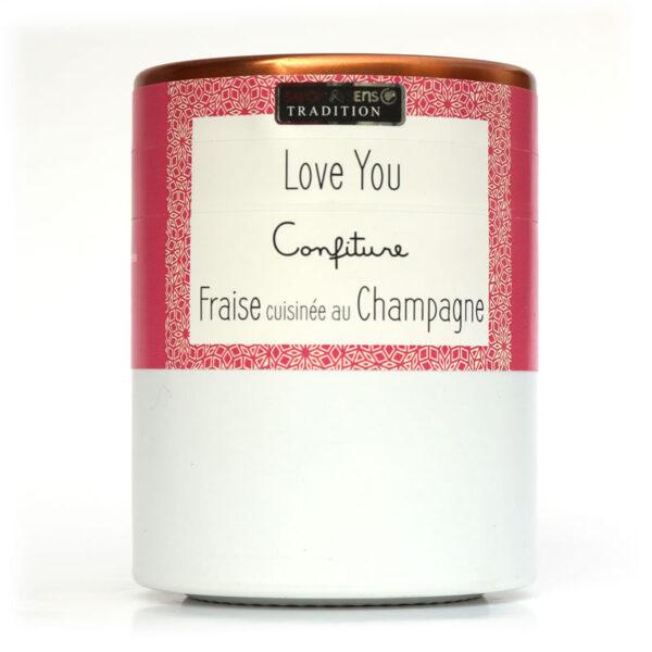 Confettura alle Fragole cotte nello Champagne